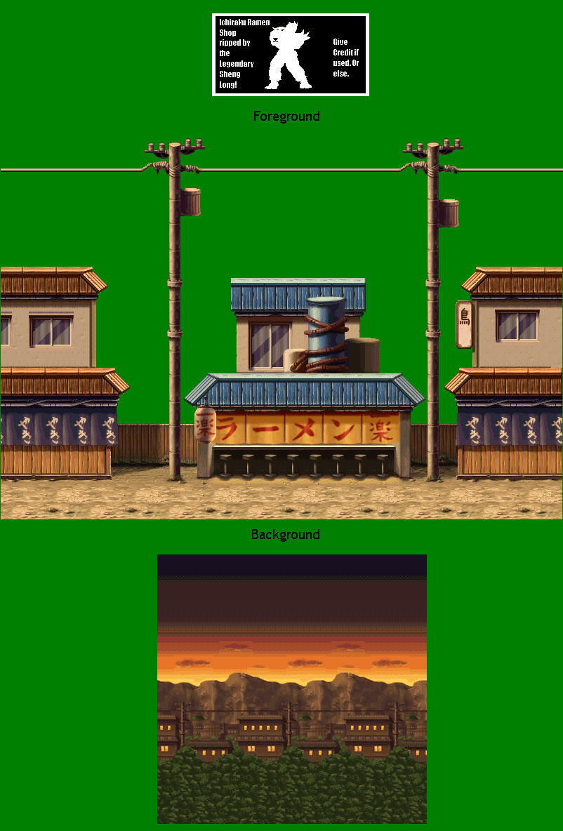 how to create a background sprite