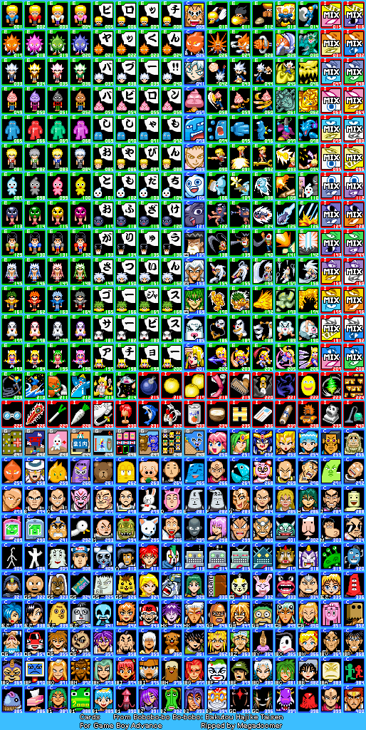 Index of files gba 926 Sprite