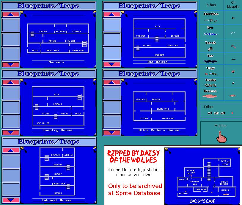 Blueprints - Sprite Database