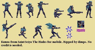 Mobile » Saint Seiya: The Hades Saga » Kamus