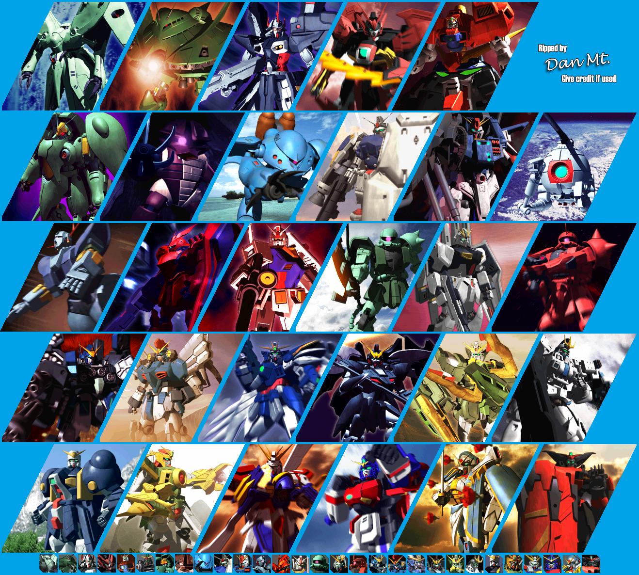 [Análise Retro Game] - Gundam Battle Assault 2 - Playstation One MobileSuitPortraits