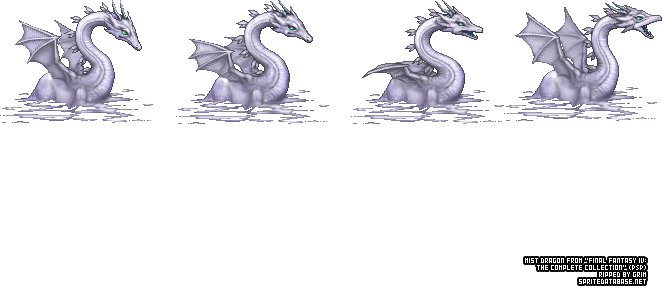 Mist Dragon Sprite Database